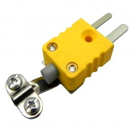 Mini Thermocouple Connector Type K Male Plug