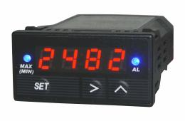Single Channel 1/32 DIN Universal Gauge Display with Analog Output